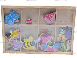 Деревянная игрушка-одевалка «Мишки», W02-2732