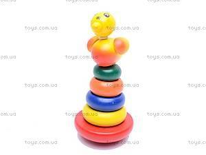 Деревянная игрушка «Пирамидка», 2011-82, фото