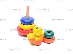 Деревянная игрушка «Пирамидка», 2011-82, цена
