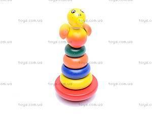 Деревянная игрушка «Пирамидка», 2011-82