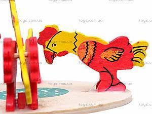 Деревянная игрушка «Птичий двор», 2011-72, фото