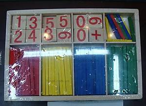 Деревянная игрушка «Учим цифры», HX0512 (0521)