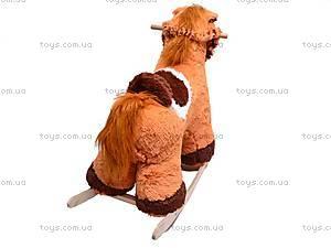 Деревянная качалка «Конь Батыр», 50012-2, фото