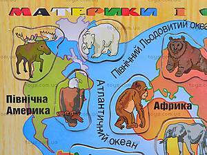 Деревянная карта, 7258-1, фото
