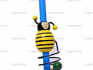 Деревянная каталка с пчелкой, 2594-12, отзывы