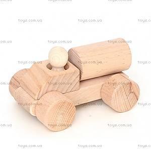 Деревянная каталка «Водовоз», Ду-04н