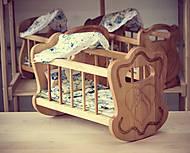 Деревянная колыбель с постелью, 03-102, отзывы