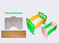 Деревянная кроватка «Корона», RTKR3-2, купить