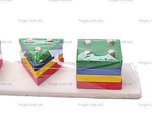 Деревянная логическая игрушка, 2012-19, фото