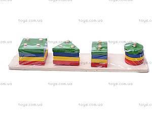 Деревянная логическая игрушка, 2012-19