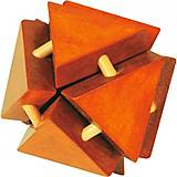 Деревянная логическая игрушка-головоломка, Д127у, купить