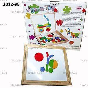Деревянная магнитная мозаика, 2012-98B