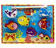 """Деревянная магнитная рыбалка """"На дне океана"""", С39440, детские игрушки"""