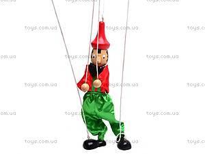 Деревянная марионетка «Пиноккио», 2011-116, фото