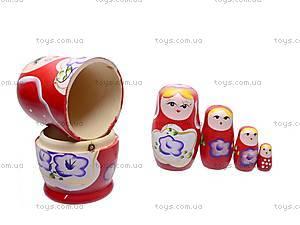 Деревянная матрешка для детей, BT-WT-0062, купить