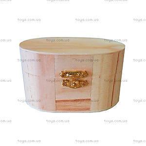 Деревянная овальная шкатулка, LY1013-103