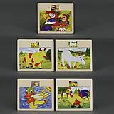 Деревянные пазлы Микс, разные, 779-635, фото