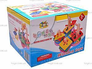Деревянная пирамидка для детей, MD0335, купить