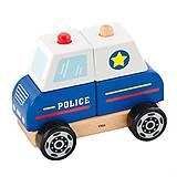 """Деревянная пирамидка  """"Полицейская машинка"""", 50201FSC, отзывы"""