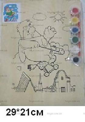 Деревянная раскраска «Карлсон», KRSN-1163