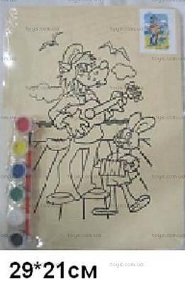 Деревянная раскраска «Ну, погоди!», NUPD-1168