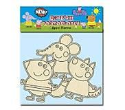 Деревянная раскраска «Свинка и друзья», 76196, купить