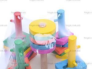 Деревянная развивающая игрушка «Квадрат», 2012-140, фото