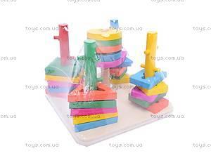 Деревянная развивающая игрушка «Квадрат», 2012-140, отзывы