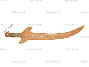 Деревянная сабля «Казацкая», 238-02-012у