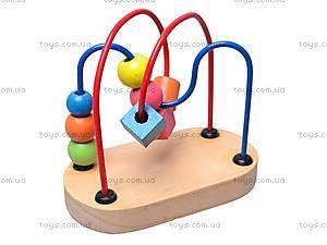 Деревянная спираль для детей, W02-2695