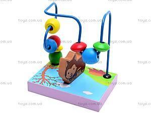 Деревянная спираль «Животные», BT-WT-0193, игрушки