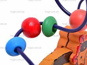 Деревянная спираль «Коровка», BT-WT-0195, игрушки
