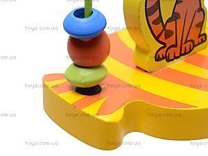 Деревянная спираль, с животными, BT-WT-0078, цена