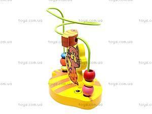Деревянная спираль, с животными, BT-WT-0078, игрушки
