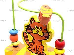 Деревянная спираль, с животными, BT-WT-0078, детские игрушки