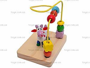 Деревянная спираль с животными, BT-WT-0194, детские игрушки