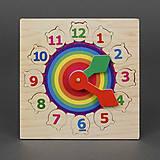 Деревянная игра «Часы - радуга», 779-606, фото