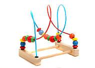 Деревянная игра для детей «Лабиринт», 0483, фото