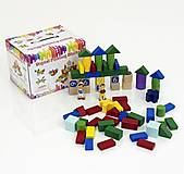 Деревянная игра с кубиками «Логика», 0404