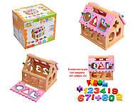 Деревянная игра «Логический домик», 0563, фото