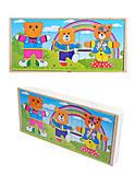 Деревянная игра для малышей «Гардероб», 0324, фото