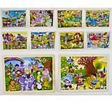 Деревянная игра «Мультипликационные пазлы», 0435, фото