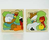 Деревянная игра «Пазлы», 0537, купить игрушку