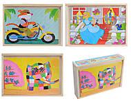 Интересные пазлы из дерева, 0520, интернет магазин22 игрушки Украина