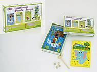 Деревянная игра «Пазлы - Башня», 0534, купить