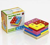 Деревянная игра «Пирамидка - Сортер», 0405