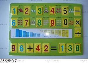 Деревянная игра-вкладыш «Математика», W02-3897