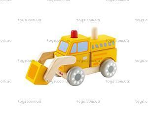 Деревянная игрушка «Бульдозер», 82406