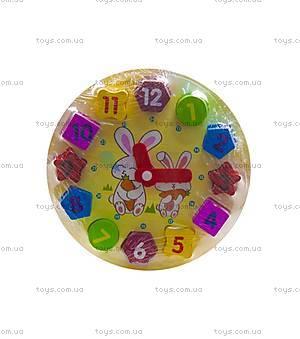 """Деревянная игрушка """"Часы"""", Р01у-1"""