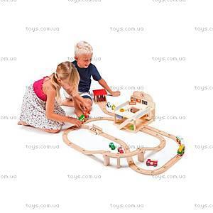 Деревянная игрушка «Железная дорога», 82546, купить